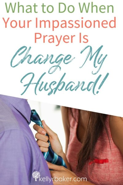 I asked God, What am I supposed to do when I want to change my husband? He showed me the biblical way to see a positive difference in him. #ThrivingInChrist #ThrivingInRelationships #relationships #marriage #husband #wife #biblical #marital #changemyhusband