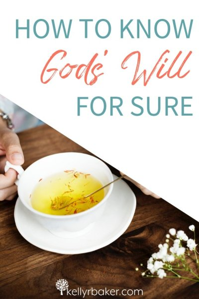 Learn how to know God's will for sure when making major or minor decisions, even about situations that aren't in the Bible. #ThrivingInChrist #Godswill #decisions #biblicaltruths #Godsvoice #prayer #direction #choices #spiritualgrowth