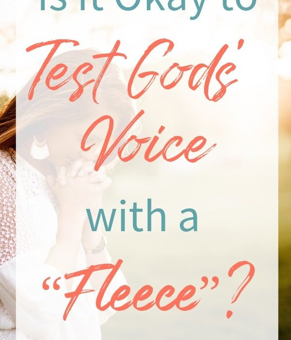 "Sometimes Christians use the phrase ""using a fleece"" when they ask God for something specific while seeking His direction. But should we? #ThrivingInChrist #fleece #Godswill #direction #prayer #relationships #choices #guidance #usingafleece #spiritualgrowth"