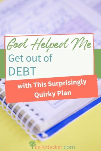 I felt God wanted me to be a good steward with my money and get out of debt; that meant being in control of it rather than letting it control me. Here's my story. #ThrivingInChrist #debt #finances #money #plan #God #SpiritualGrowth