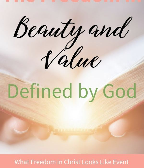 The Freedom in Beauty and Value Defined by God