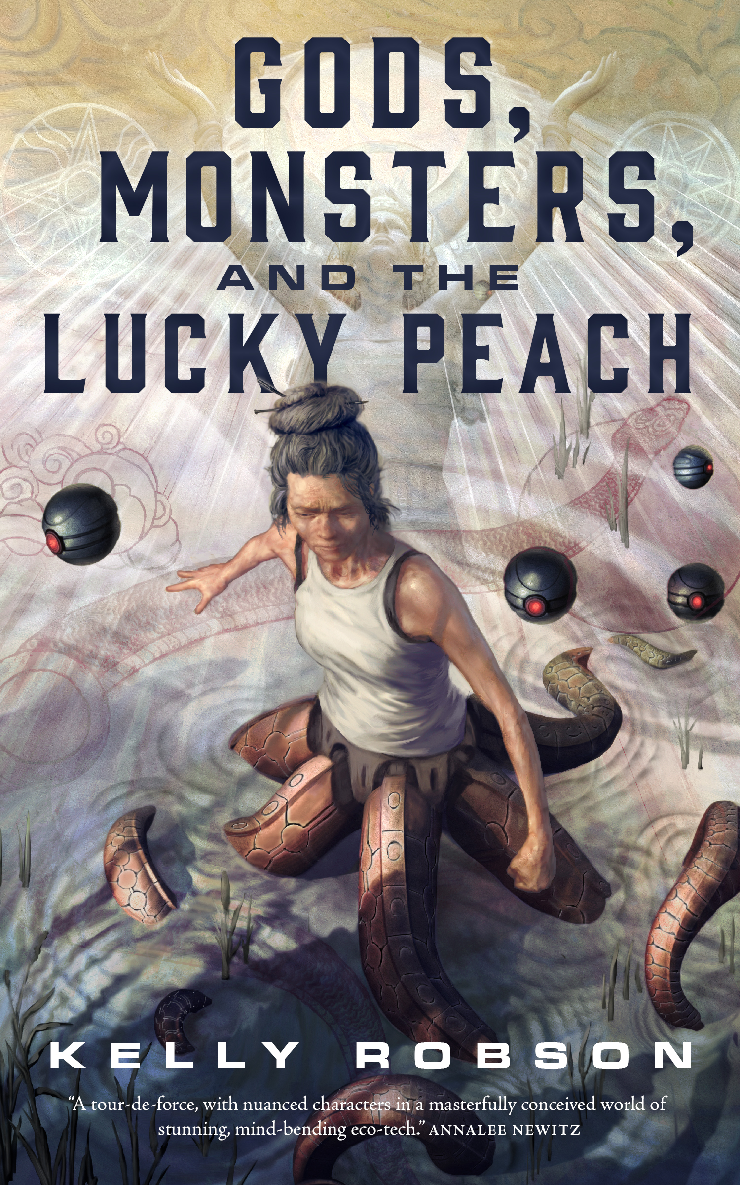 Image result for Kelly Robson: Gods, Monsters and the Lucky Peach.