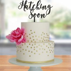 Adirondack Chair Cake Topper Steel Manufacturers In Mumbai Hatching Soon For Yummy Mummies - Kelly's Toppers