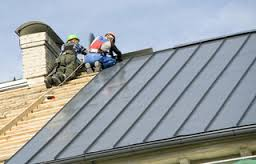 roof installation material options metal roof Pinnacle Roofing of New England
