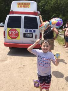 Something about Kelly's Ice Cream Truck sets any event apart. The fun.