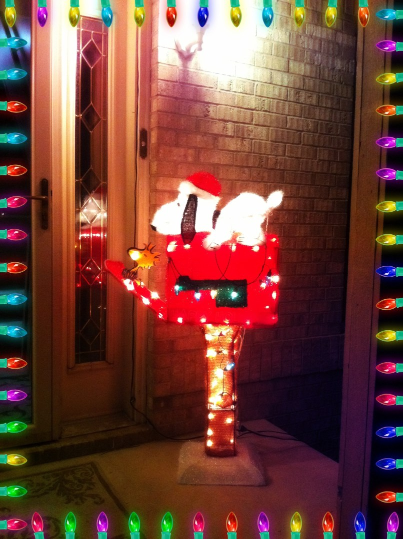 snoopy christmas outdoor decorations decoration image idea - Snoopy Christmas Outdoor Decorations