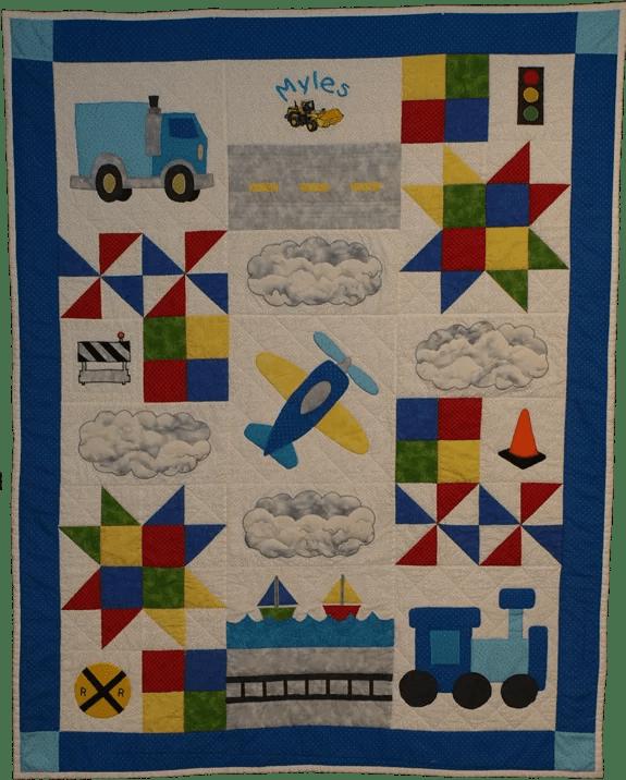 Transportation Quilt – Kelly's Quilt Studio : transportation quilt - Adamdwight.com