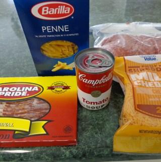 Bacon Cheeseburger Pasta Recipe
