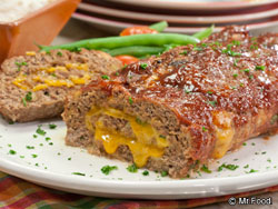 Cheesy Stuffed Meatloaf