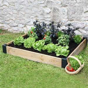 Ten Benefits of a Haxnicks Raised Bed Patio for Growing Vegetables