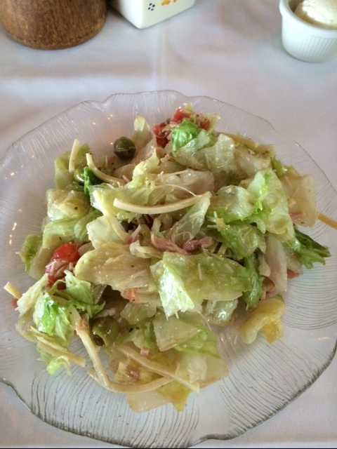 1905 - Salad - Columbia - Restaurant - Clearwater beach - Florida - Kelly's Thoughts On Things