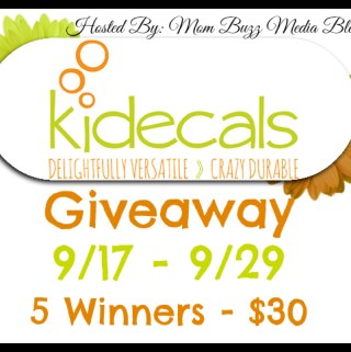 Kidecals Review and #Giveaway #MomBuzz #Kidecals