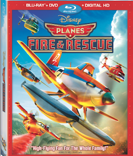 Disney's Planes: Fire & Rescue Flys Home to Blu-ray 11/4