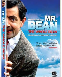 Mr. Bean: The Whole Bean 25th Anniversary Collection 4-DVD Set Debuts March 24, 2015
