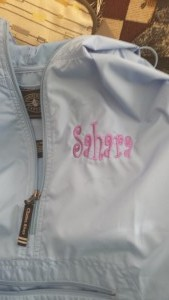 The Pink Monogram Pack and Go Pullover Rain Jacket #review