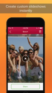 Sharalike – Photo Slideshow Maker To Instantly Convert Images Into Stunning Video Clips With Music And Share Them Online