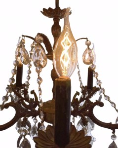 Dimmable Antique Chandelier Light Bulbs