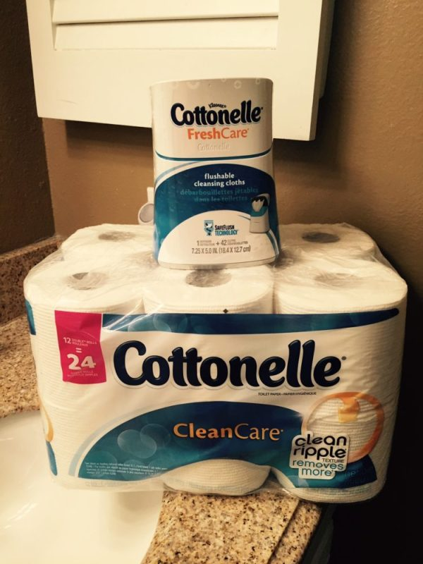 Go Commando with Cottonelle and a Free Sample #GoCommando