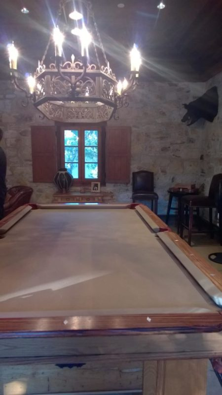 The Game Room at Holman Ranch