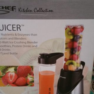 A lot of Smoothies Going Down in My House with the Ergo Chef My Juicer