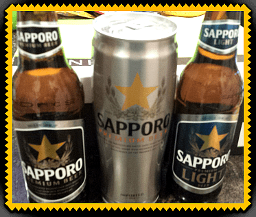 Sapporo Beer- Father's Day Must Have
