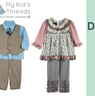 Shop-Sell-Donate with My Kid's Threads Online Designer Consignment