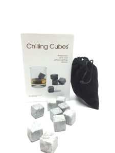 Chilling Cubes - Set of 9 Grey Whisky Chilling Rocks