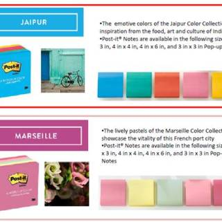 Post-it Brand World of Color Collection Is So Inspiring!