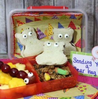 Lunch Box Inspiration: Bear Bento Lunch
