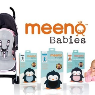 Keep the Little Ones Safe This Summer with Meeno Babies' Cool Mee Car Seat & Stroller Liners