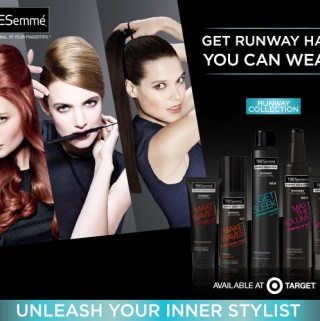 TRESemme Runway Collection #TRESRunwayReady