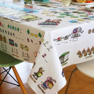 Learning with Table-Time Look and Learn Tablecloth