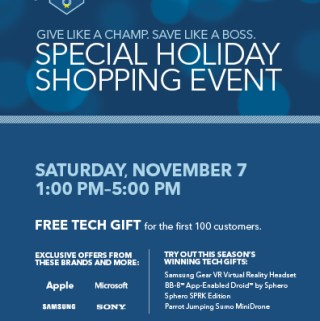 Special Holiday Shopping Event @BestBuy  #WinTheHolidaysSweepstakes