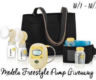Medela Freestyle Breast Pump Giveaway