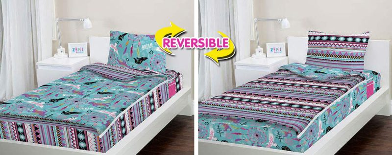 Zipit Bedding® allows kids and teens to make their beds in just one zip!