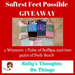 Softest Feet Possible Giveaway ends 11/30 @pedisox #ktotgiftguide