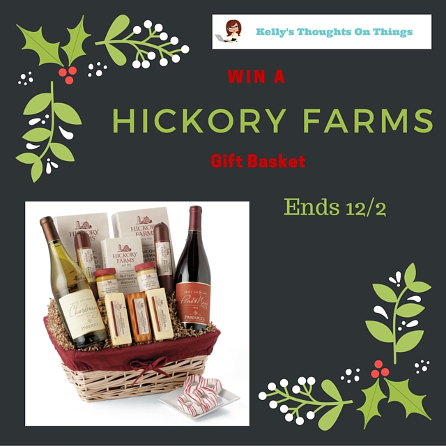Hickory Farms Giveaway- 12/2