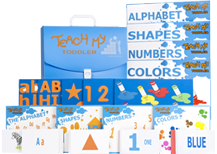 Teach My Toddler Learning Kit - Deluxe Version