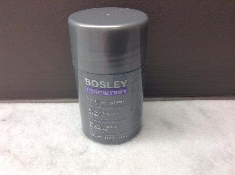 Easy Fix to Thinning Hair with Bosley!