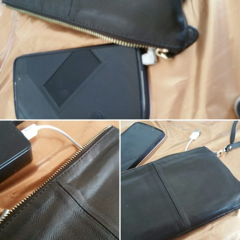 Mighty Purse- Charges Phone