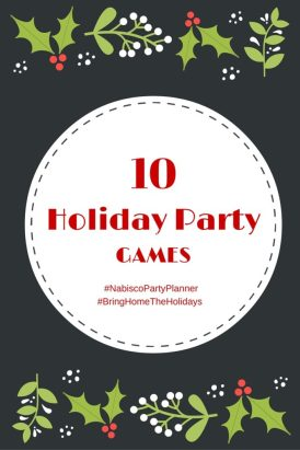 10 Holiday Party Games- #ad, #NabiscoPartyPlanner, #BringHomeTheHolidays