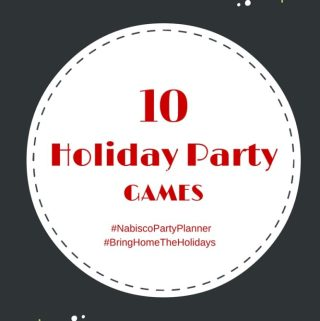 Holiday Pie Plus 10 Holiday Party Games  #ad #NabiscoPartyPlanner #BringHomeTheHolidays