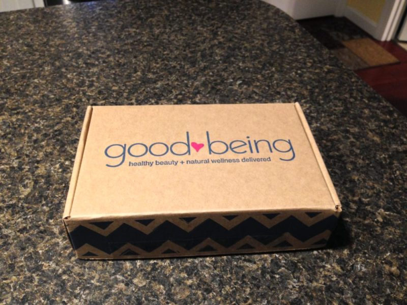 Good Being Natural Beauty Box Subscription