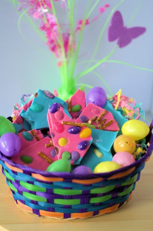 Turn Chocolate Bark Into A Special Easter Treat