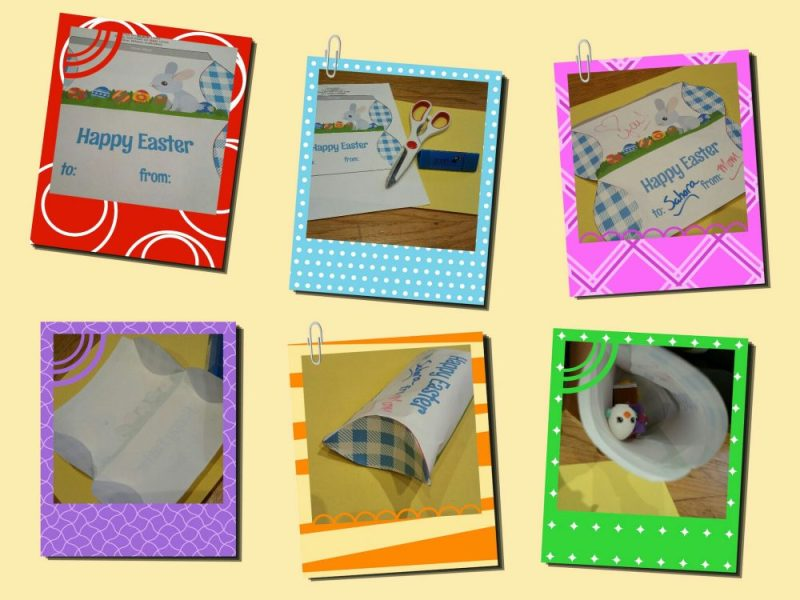 Steps to make the easter pillow box