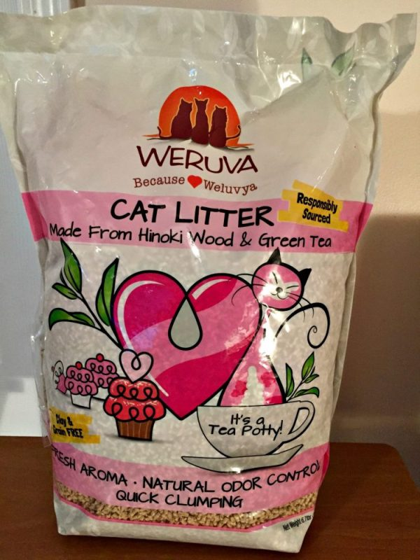 The Special Cat Litter That Any Cat Is Guaranteed To Love #CatTeaPotty