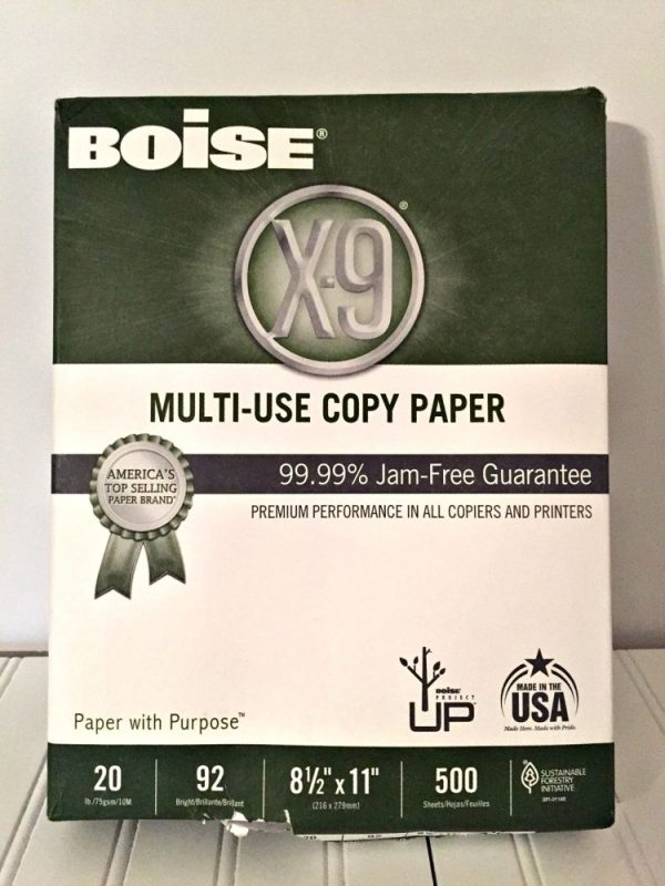 High-Quality Printer Paper You Can Count On