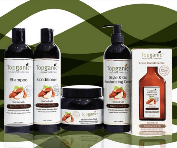 Topganic Brazilian Nut Oil Hair Care Collection