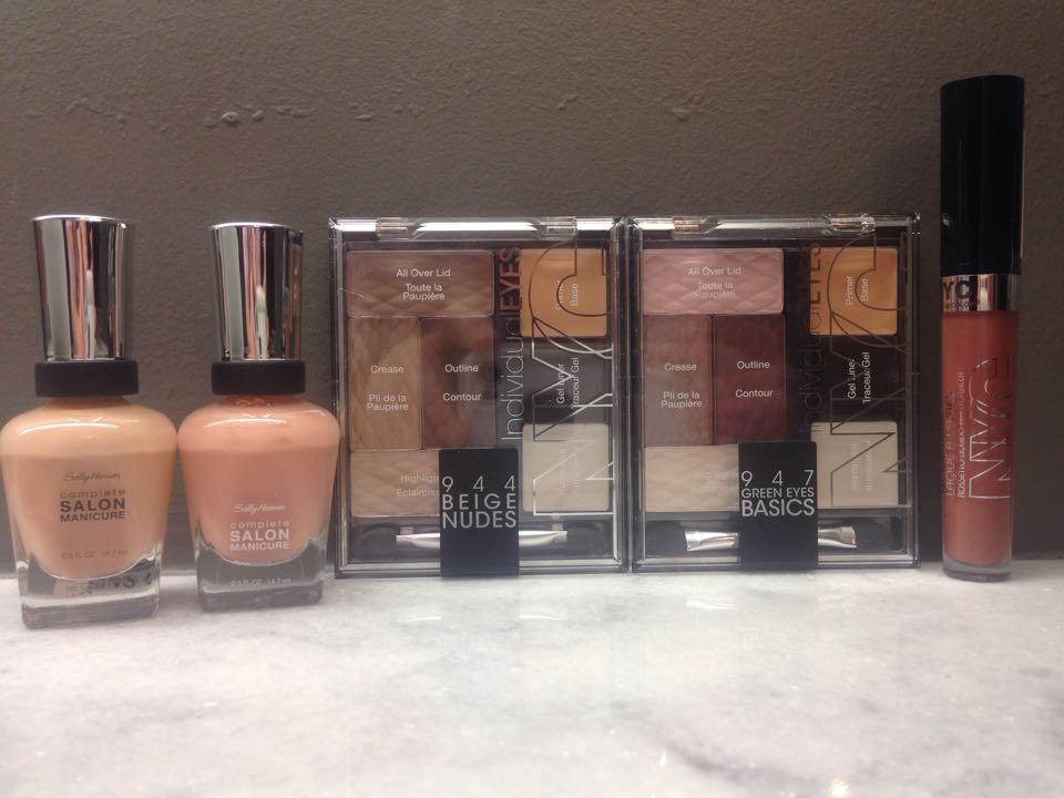 Ready to go Bare with Nude colors!