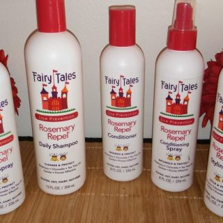Prevent Lice from getting you with Fairy Tales Hair Care